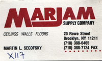 Marjam Supply Company